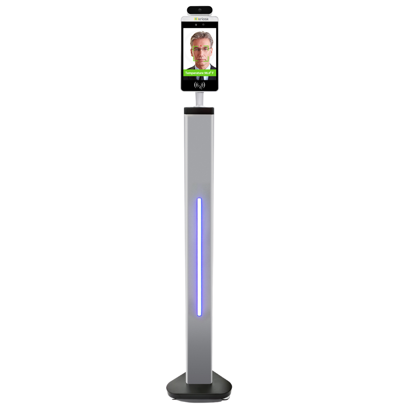 Secure and High Performance Temperature Screening Kiosk